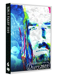 Bible Diary Hard 2019 Blue
